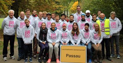 Das Helferteam der LG Passau
